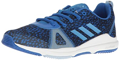 adidas cloudfoam blue trainers