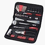 Apollo Tools DT9774 SAE Auto Tool Kit with Zippered Case, 56-Piece