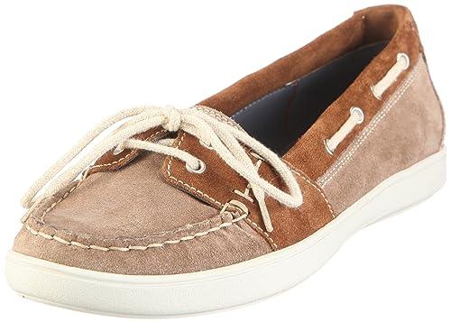 Sioux Oceana 50491 - Mocasines de ante para mujer, color marrón, talla 40: Amazon.es: Zapatos y complementos