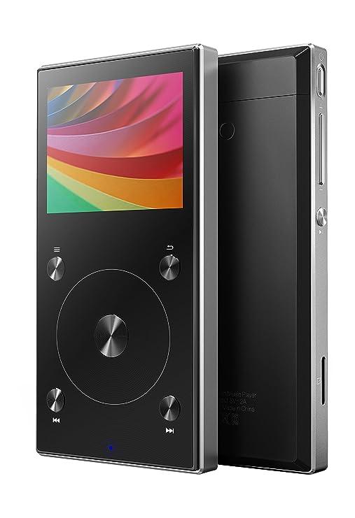 FiiO X3 Mark III Portable Hi Resolution Lossless Music Player with Bluetooth  Black  MP3/MP4 Players