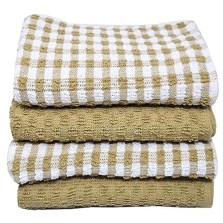 Xelay 100% Cotton Terry Tea Towel Egyptian e67991f2d