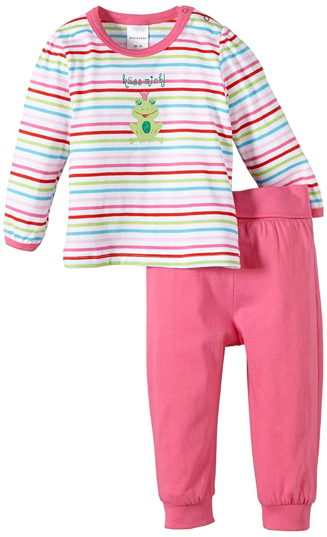 Schiesser Baby-Mädchen Zweiteiliger Schlafanzug 141611