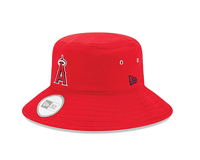 03069e23 Amazon.com : MLB Anaheim Angels Team Bucket Redux Bucket Hat, One Size :  Clothing