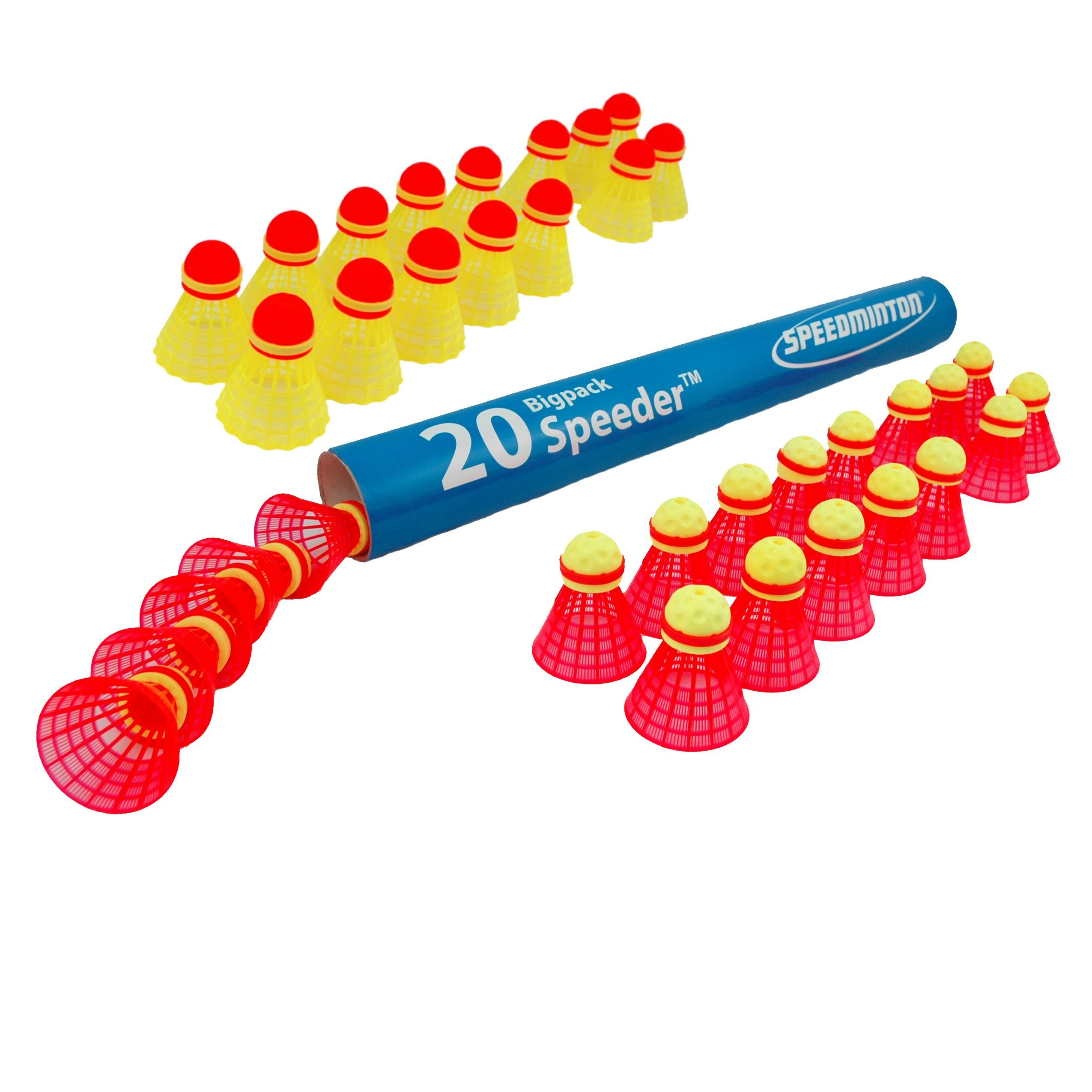 Match and Fun Speeders 20 Pack by Speedminton