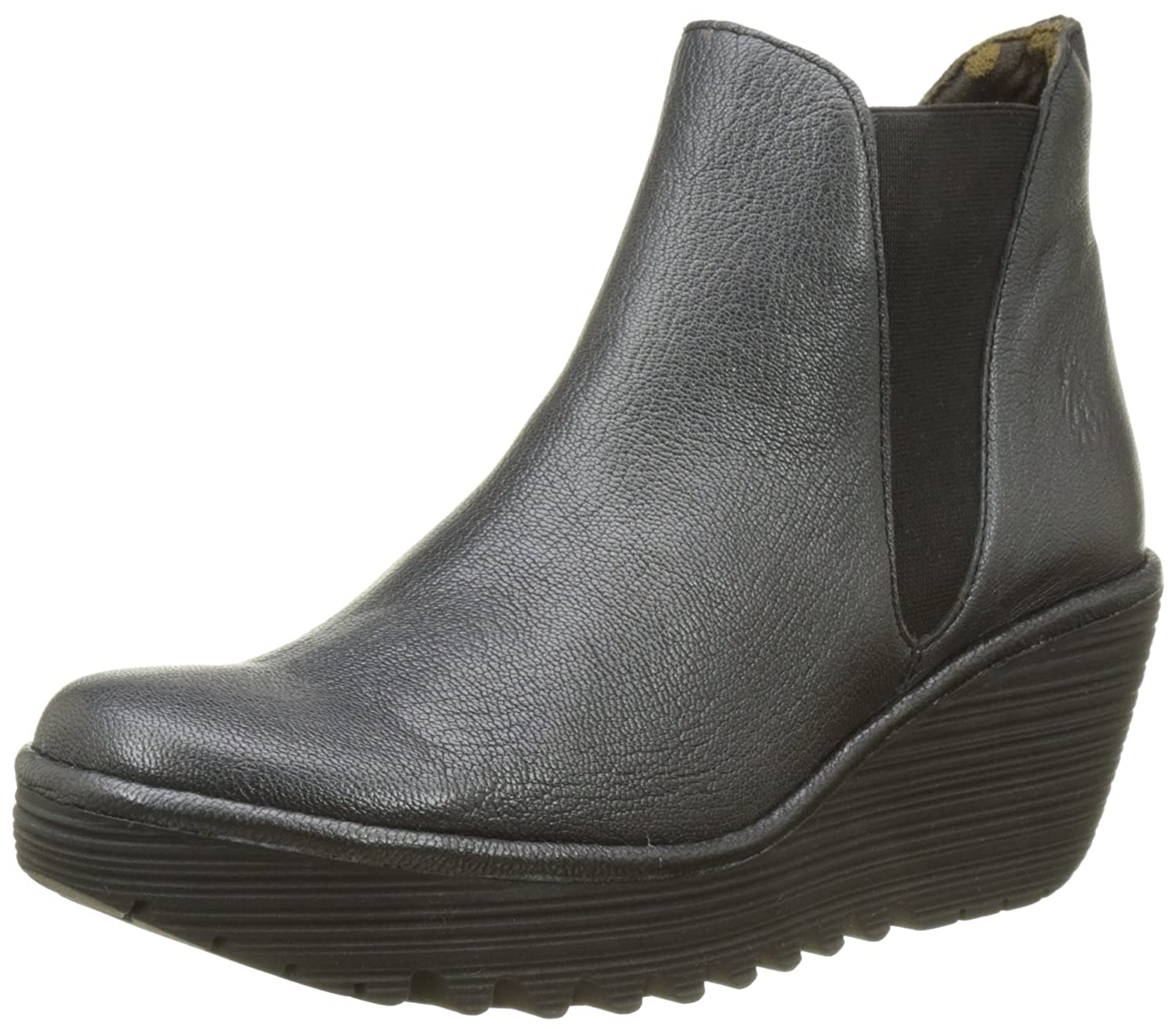 FLY London Women's Yoss B06WWLYGWG 42 M EU|Graphite