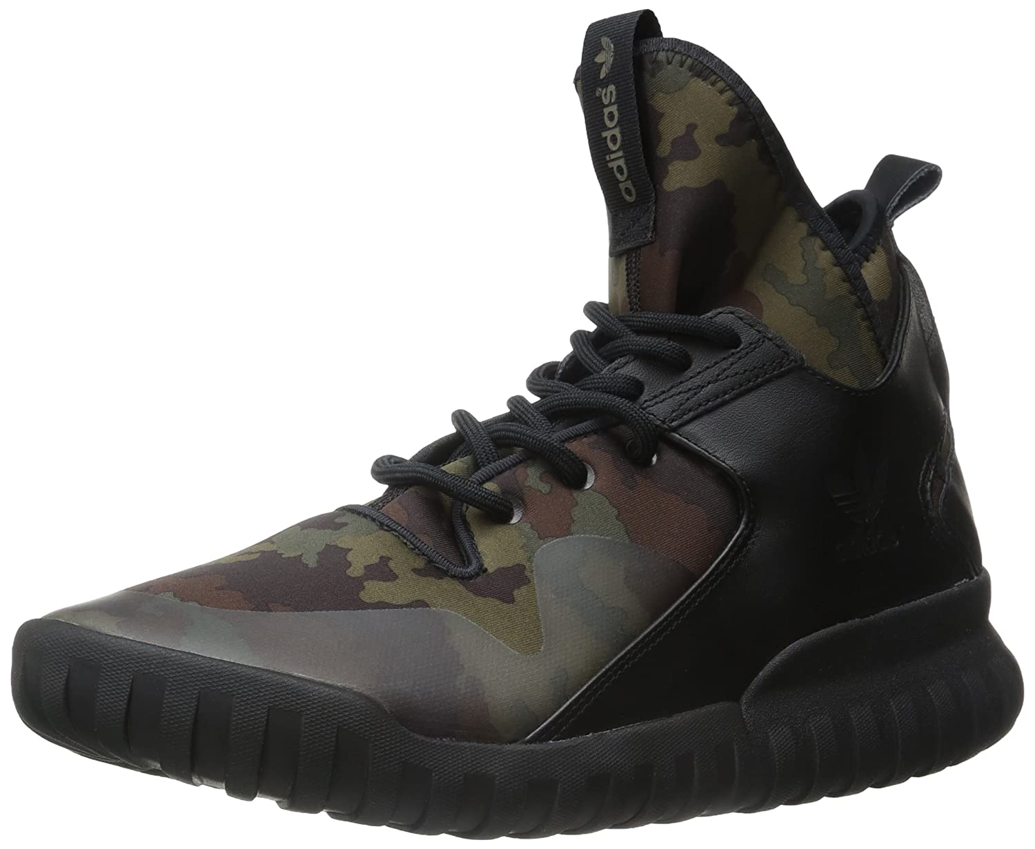 promo code fbd17 dc238 Amazon.com   adidas Mens Tubular x Prime Knit Black Carbon-White Mesh    Fashion Sneakers