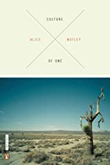 Culture of One (Penguin Poets) Paperback