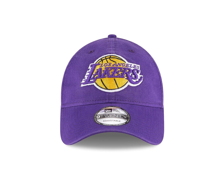 65bc5aadfd8 Amazon.com  NBA Los Angeles Lakers Core Classic 9Twenty Adjustable ...