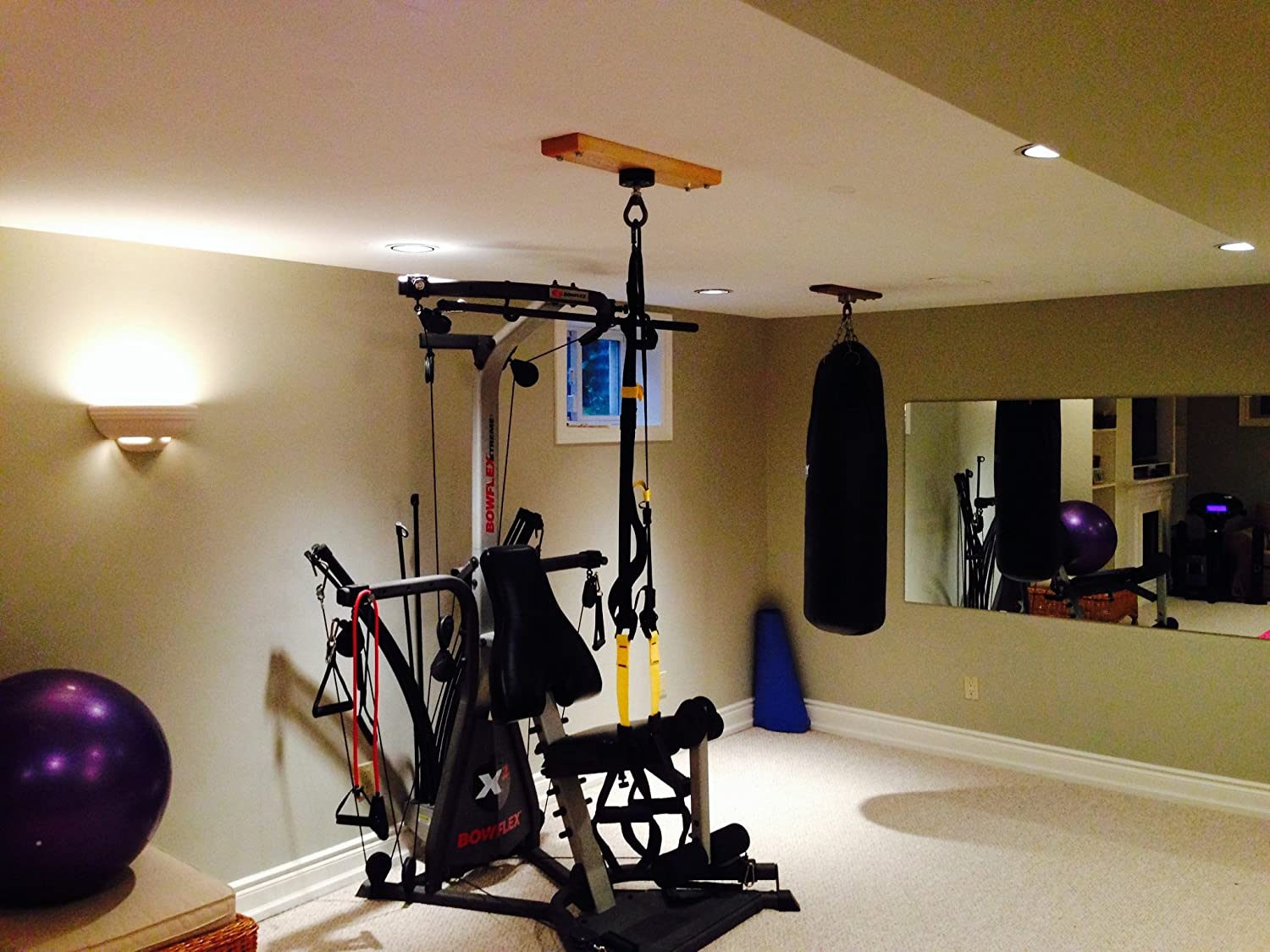Build the ultimate garage gym for about per day
