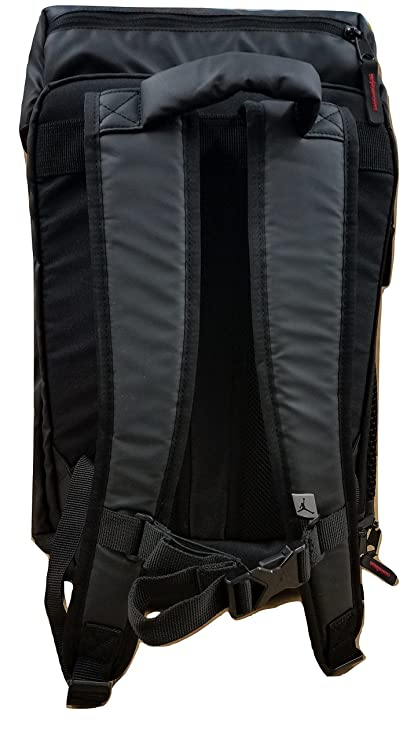 Nike Jordan Multi-Purpose Multi-Pocket Laptop Backpack 9A1876-023 Black  Black Red  Amazon.co.uk  Clothing d062c5ebe97ce