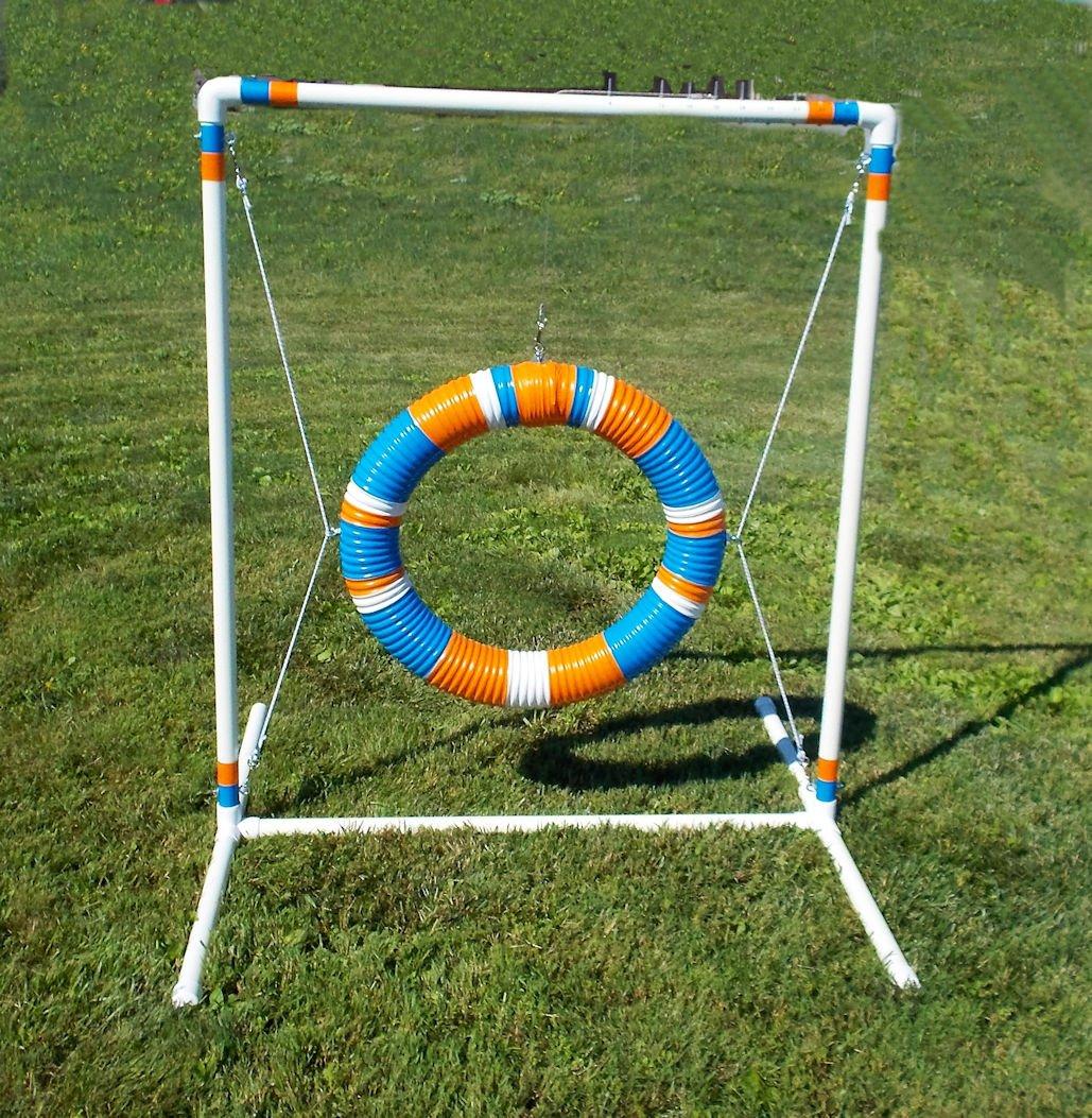 Blue N Orange Tire Jump 24''