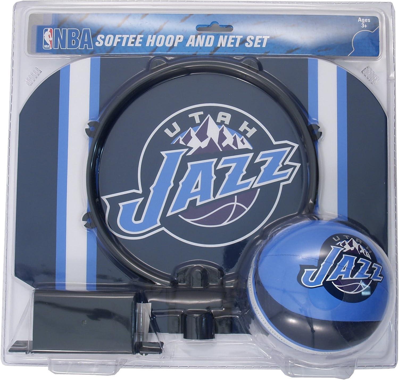 NBA Utah Jazz Slam Dunk Softee Hoop Set