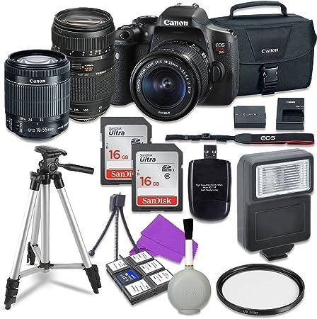 Canon Canon EOS Rebel T6i DSLR Camera product image 11
