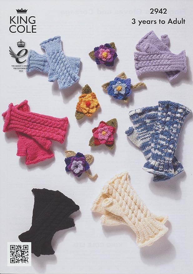 King Cole ropa de descanso para niñas DK 4 capas Aran para mujer ...