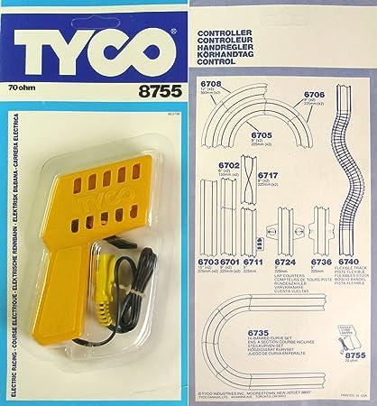 Amazon Com 1978 Tyco 70 Ohm Ho Slot Car Track Controller 8755