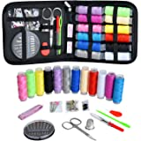 Sewing Kit, Zipper Portable Mini Sewing Kits for Adults, Kids, Traveler, Beginner, Emergency, Family Repair, Sewing Supplies