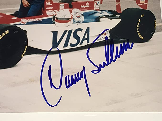 Danny Sullivan Signed Indy 500 Indianapolis 8x10 Photo Autograph 1985 Day After