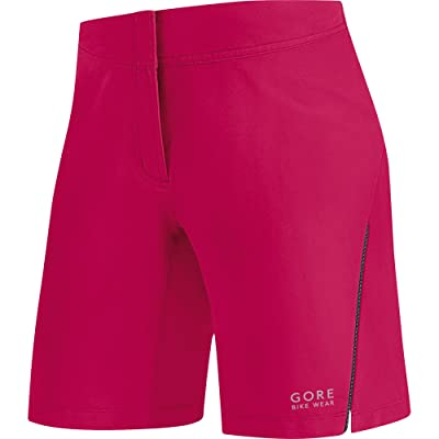 GORE BIKE WEAR Women's Cycling Shorts, Super-Light, Stretchy, GORE Selected Fabrics, LADY Shorts, Size S, Jazzy Pink, TLELSP