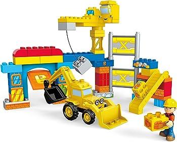 Mega Bloks Bob The Builder Work Yard Build-Up Building Kit