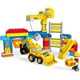 Mega Bloks Bob The Builder Work Yard Build-Up Building Kit