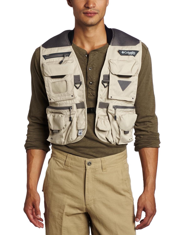 88ae7693eb3b1 Amazon.com : Columbia Men's Henry's Fork V Vest : Fishing Vests : Clothing