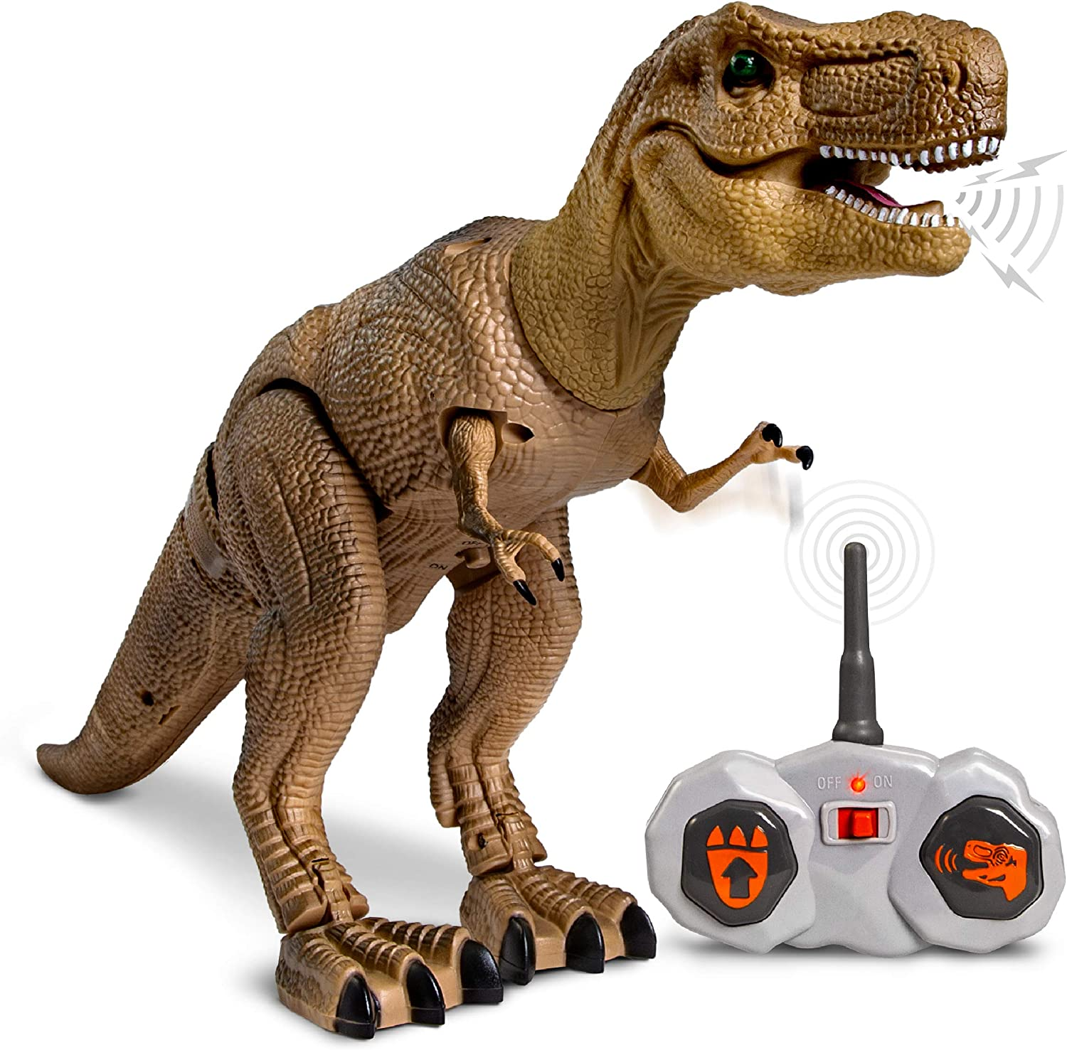 Top 10 Best Remote Control Dinosaurs (Gift Idea) For Toddlers 1