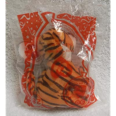 2009 McDonald's Ty Teenie Beanie Babies Oasis the Tiger #28: Toys & Games
