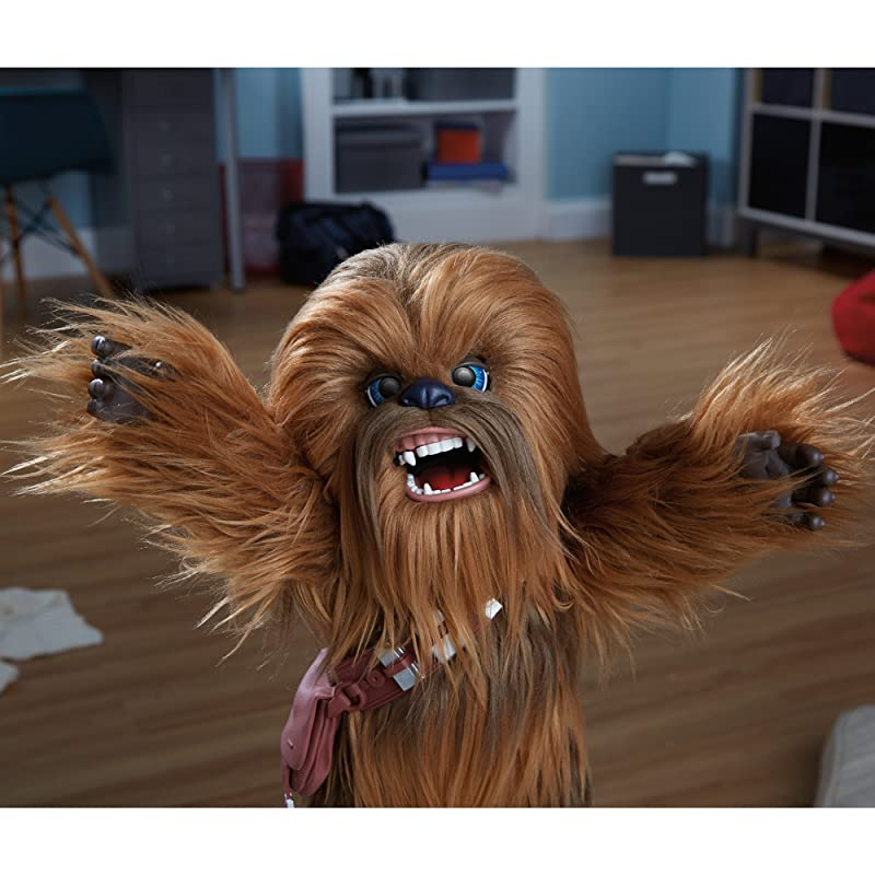 Chewbacca Interactive Plush Toy