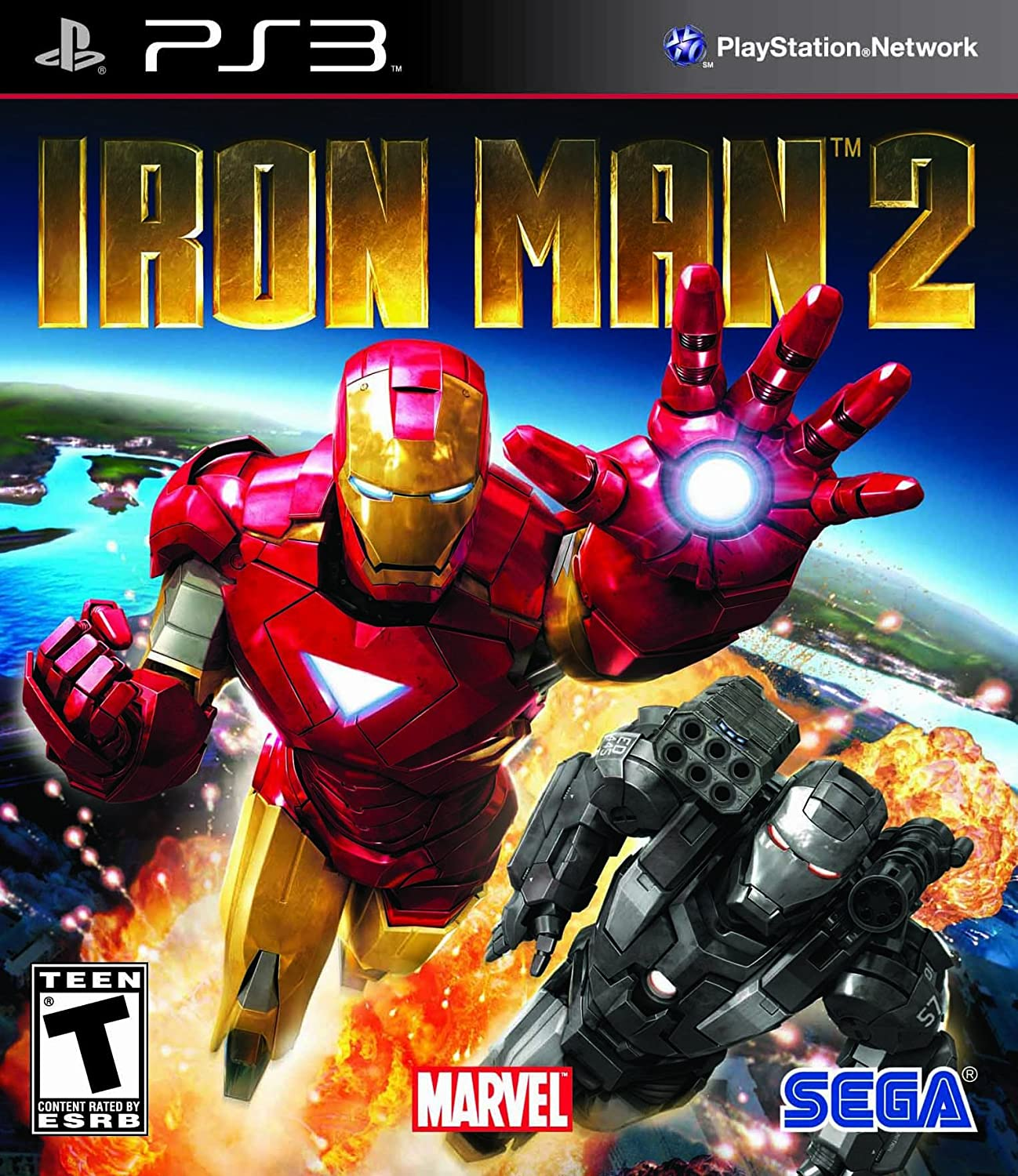 iron man 2 the game ps3 part 1