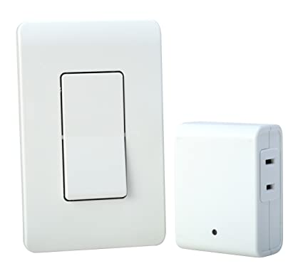 Woods Indoor Remote Control For Lights with Wall Switch (1 Polarized ...