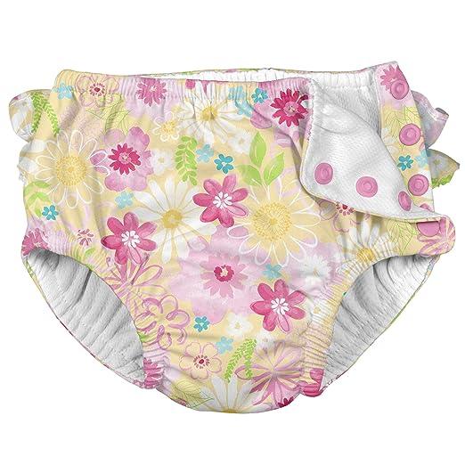f4fc8cadeac Amazon.com: i play. Unisex Reusable Absorbent Baby Swim Diapers ...