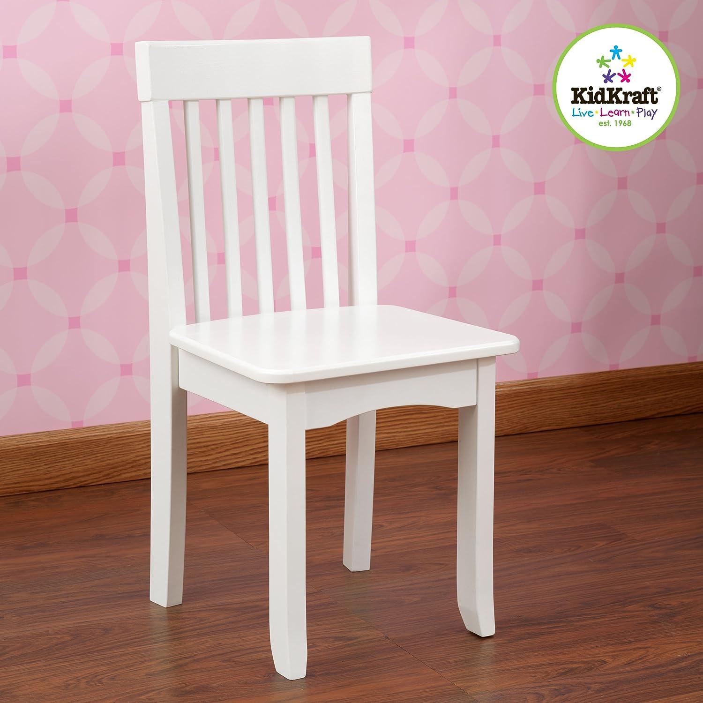 Kidkraft Petal Pink Kitchen Amazoncom Kidkraft Avalon Chair White Toys Games