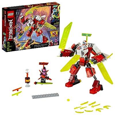LEGO NINJAGO Kai's Mech Jet 71707 Toy Plane Building Kit, New 2020 (217 Pieces): Toys & Games