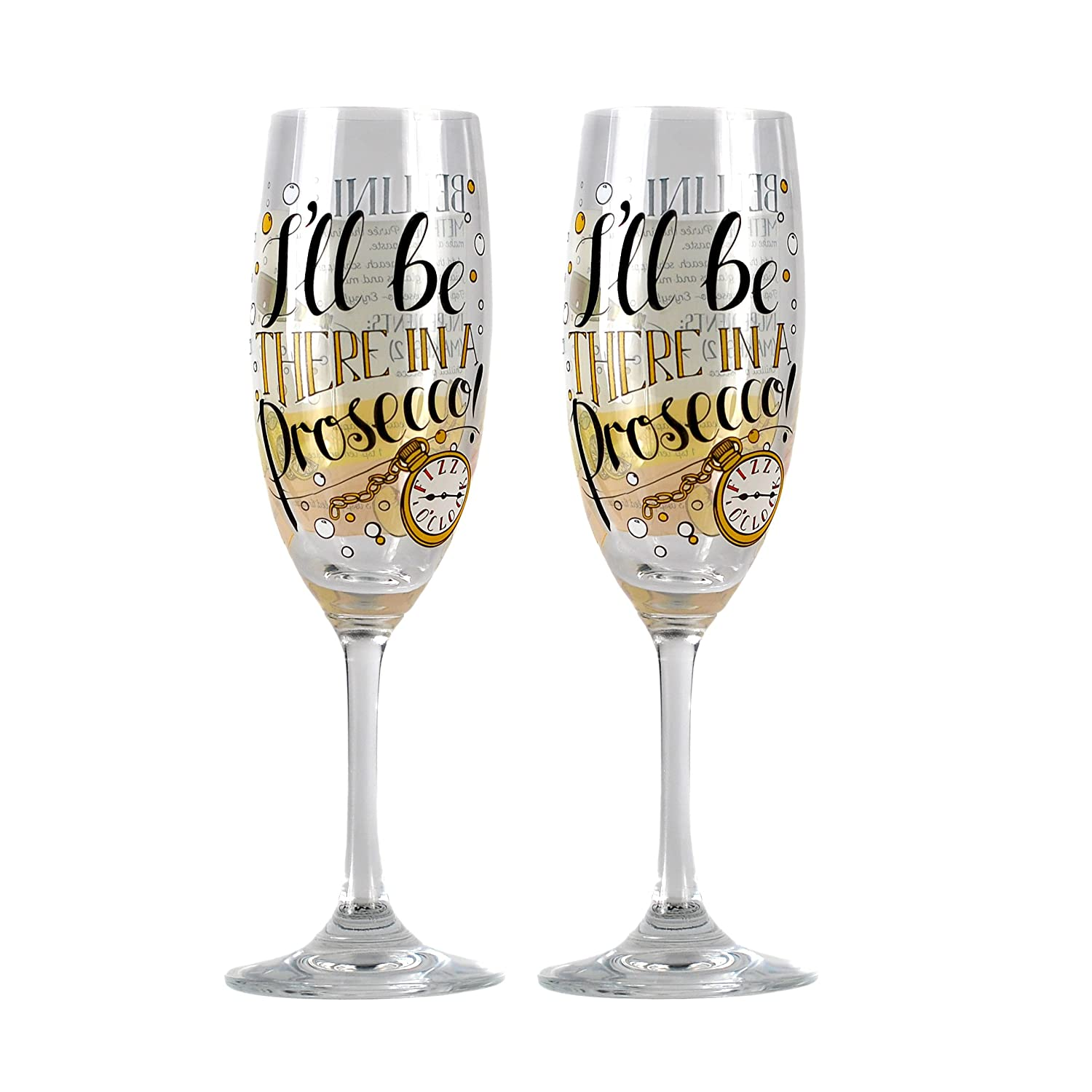 Made to Measure Champagne Glasses (Set of 2) - Bellini