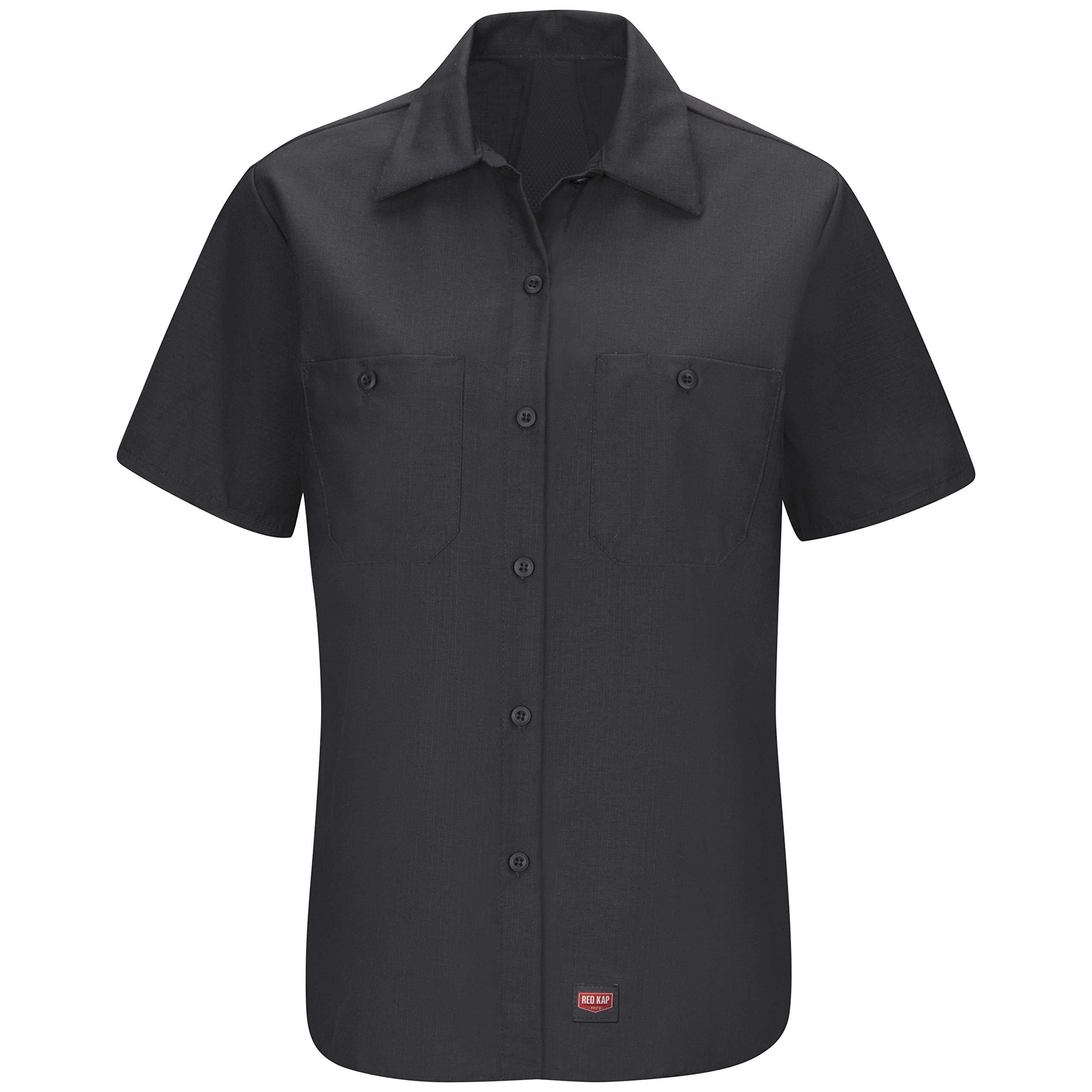 Red Kap Women's Short Sleeve Mimix Work Shirt