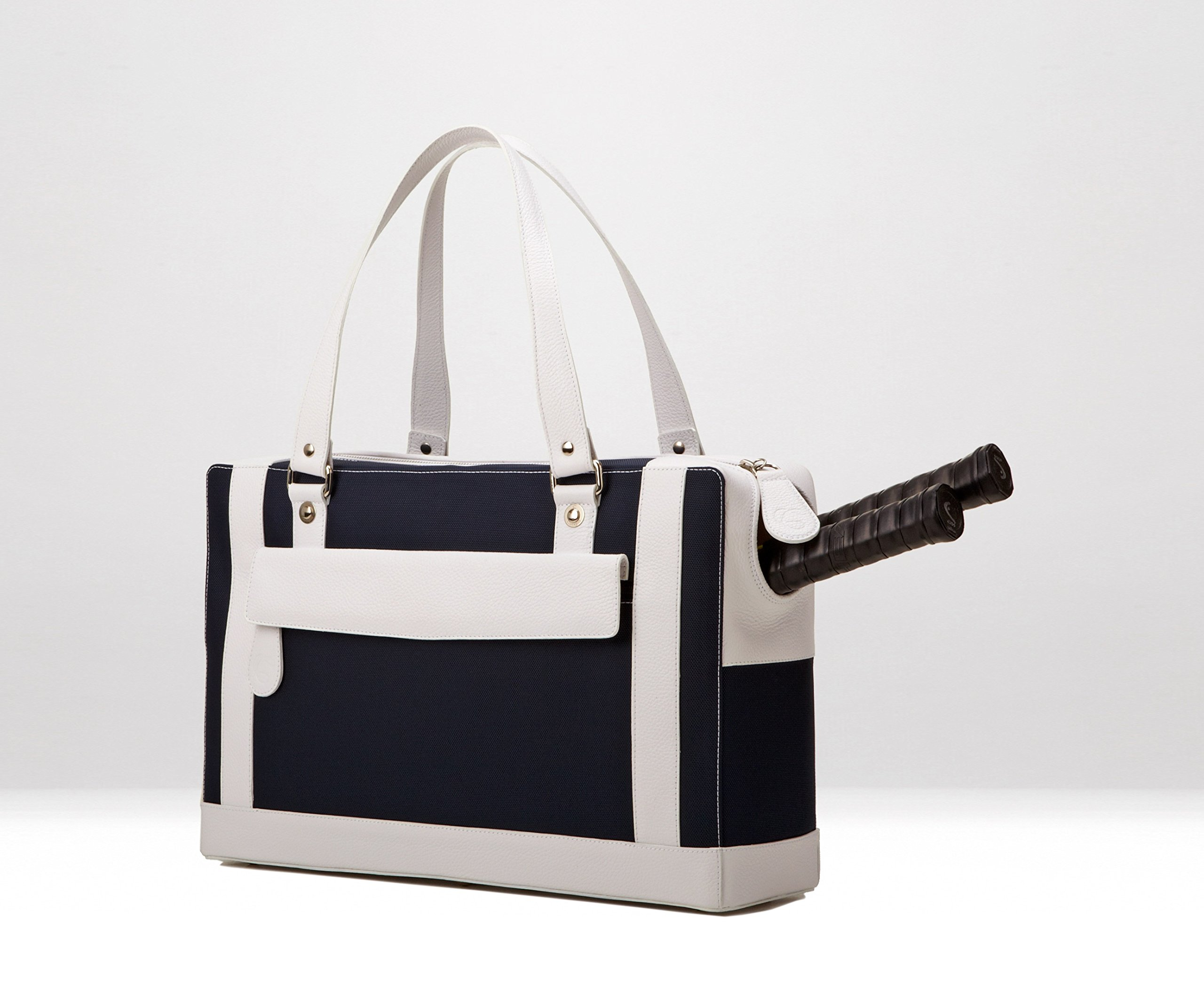 Cortiglia Marina Blue Navy/white Tennis Bag