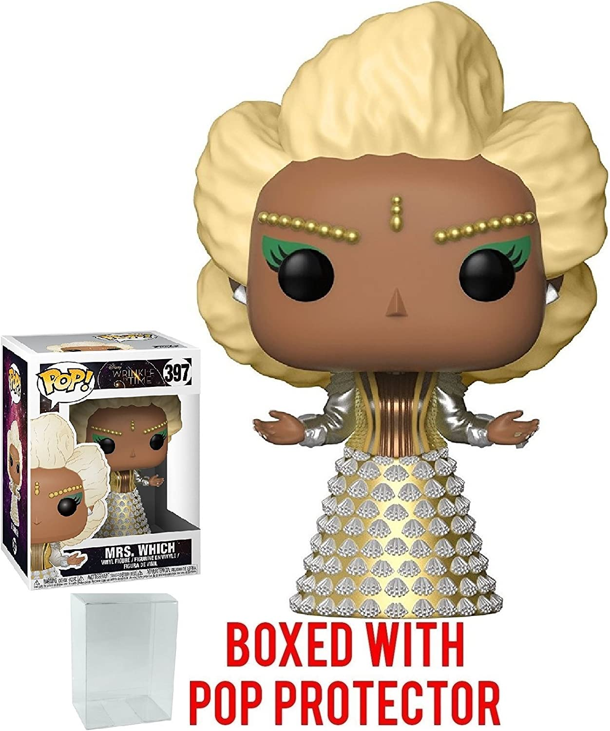 POP Disney: A Wrinkle in Time Funko Mrs Who Brand New In Box