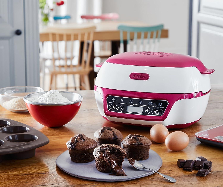 Tefal Cake factory cocina repostería, color blanco y ...