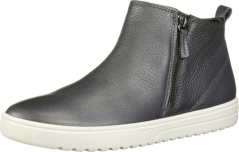 ECCO Womens Fara Ankle Zip Bootie Sneaker: Amazon.ca: Shoes