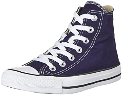 c546ad6a5c3bf6 Converse Unisex Adults  Chuck Taylor All Star Hi-Top Slippers Blue Size  3