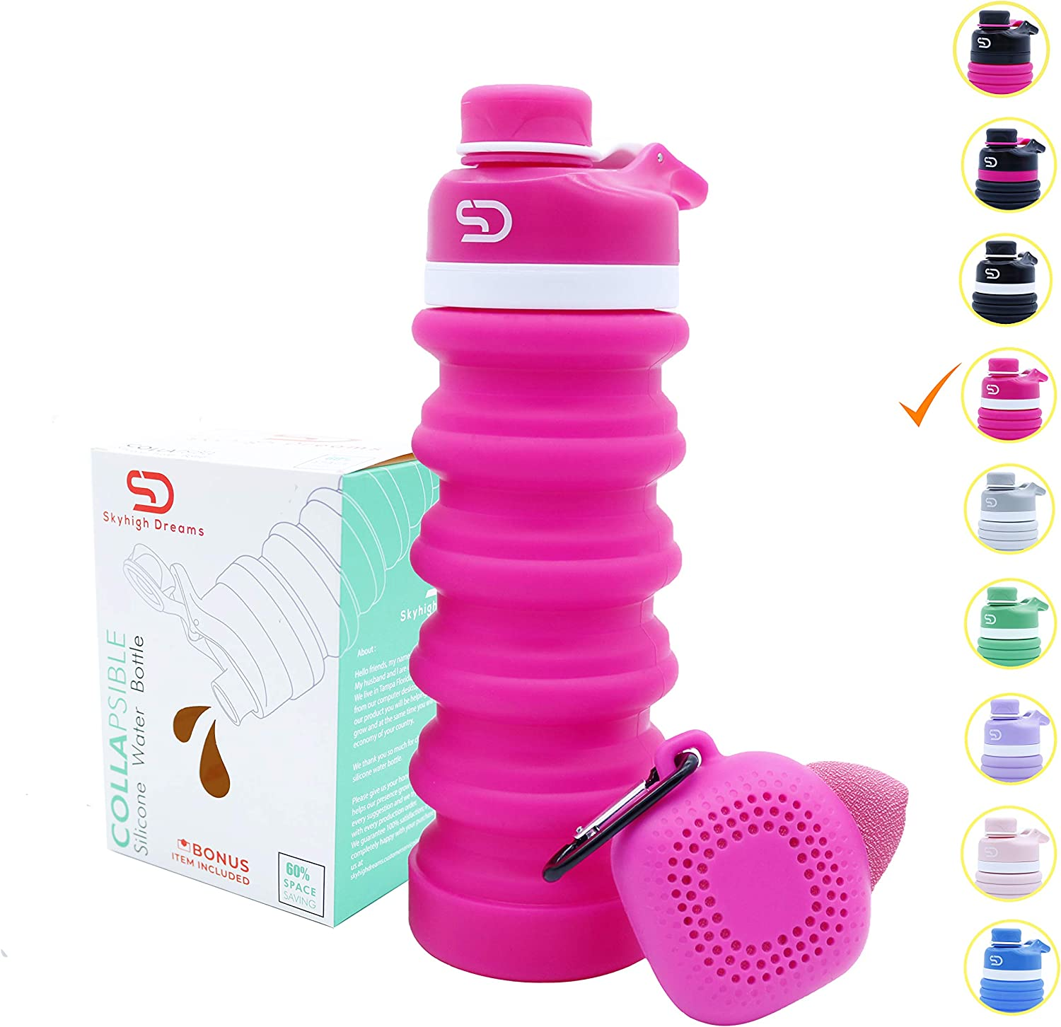 Skyhigh Dreams Silicone Water Bottle