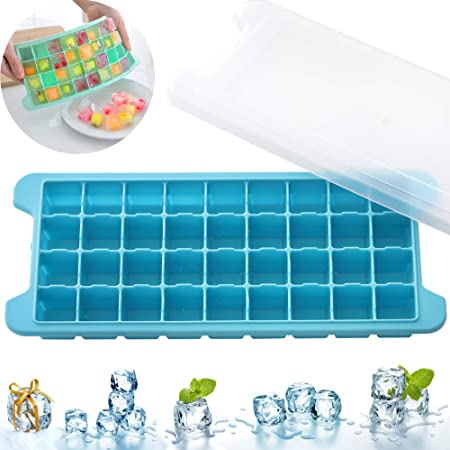 1PCS Silica Gel Ice Cube Tray Lovely Fruits Children Ice-making Box