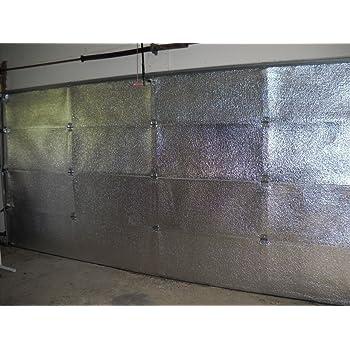 Nasa Tech White Reflective Foam Core 2 Car Garage Door