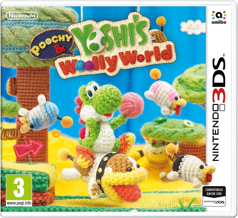 Poochy & Yoshis Woolly World - Nintendo 3DS [Importación italiana ...