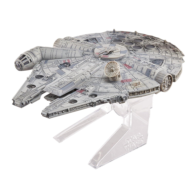 Hot Wheels Elite Star Wars Episode VI: Return of The Jedi Millennium Falcon Starship Druckguss Fahrzeug CMC93