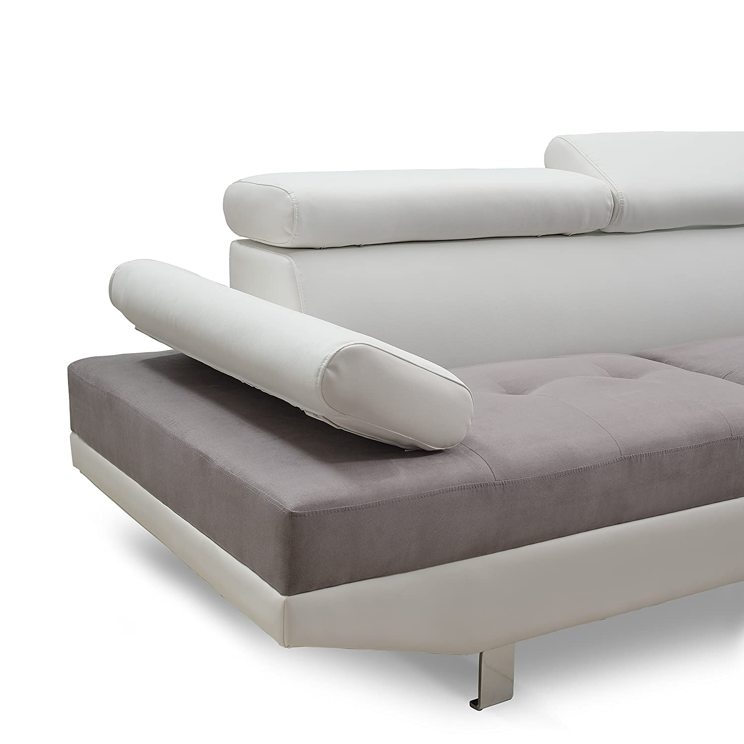 Divano Roma Furniture Modern Contemporary Designed Two Tone ...