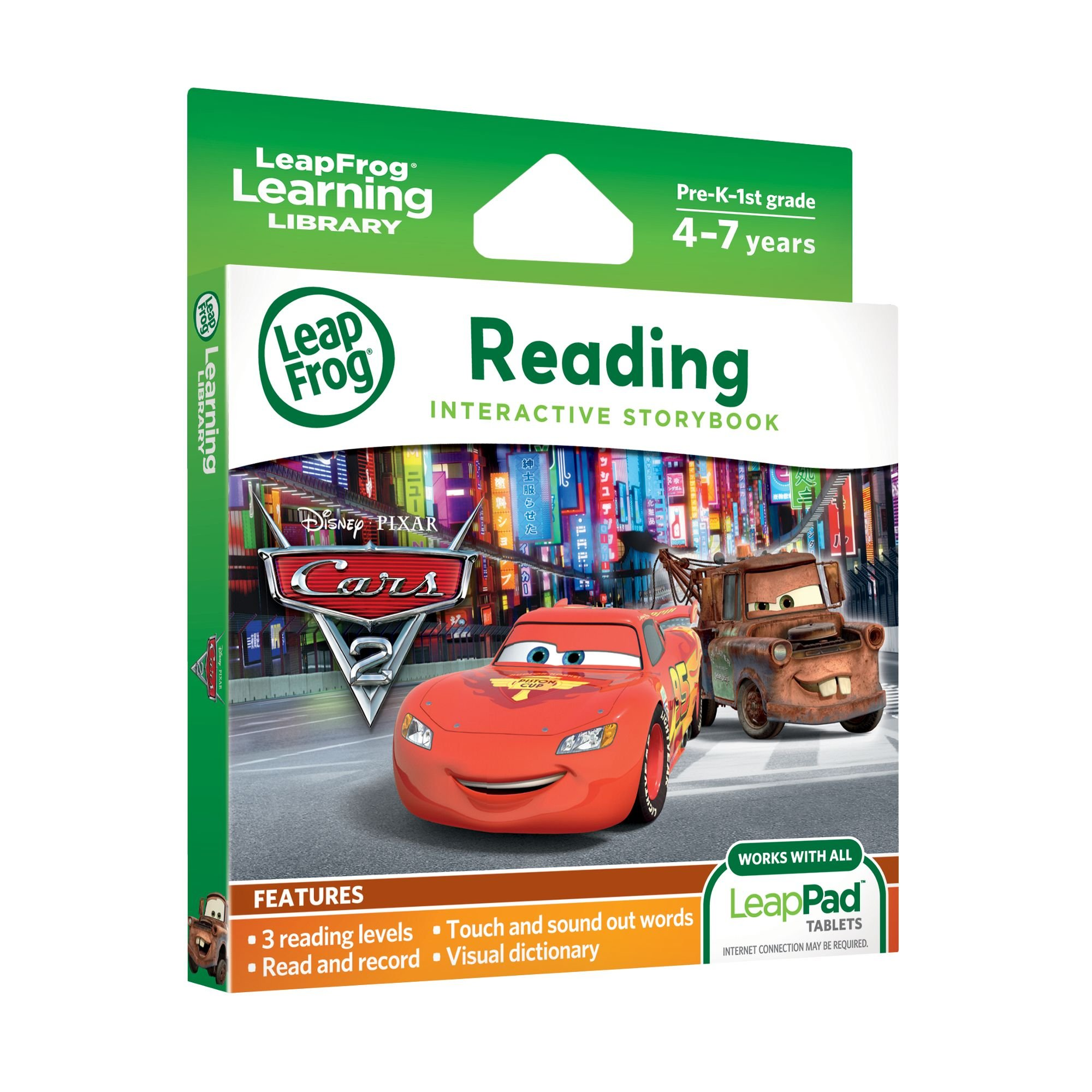 LeapFrog LeapPad Ultra eBook: Disney Pixar Cars 2 (works with all LeapPad Tablets) by LeapFrog (Image #2)