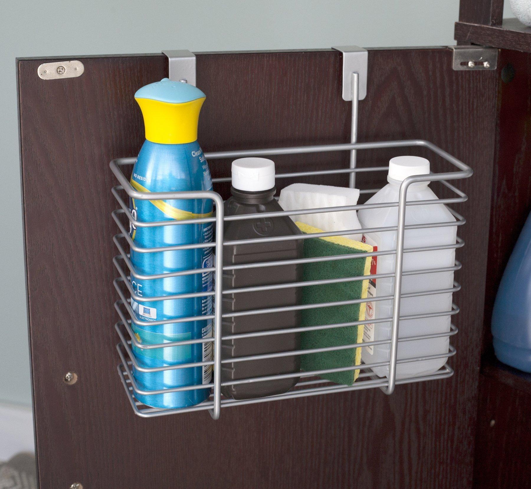 Home Basics Over the Cabinet Basket Organizer (Large) [Home]
