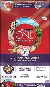 Purina ONE SmartBlend Vibrant Maturity 7+ Senior Dog Food