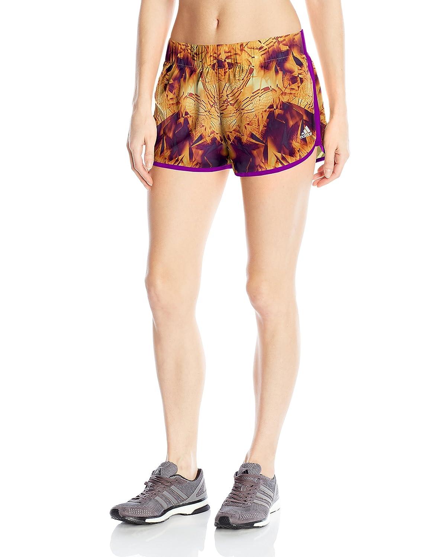 adidas Women's Running M10 Short, Shock Purple, L 3 L 3 F16081341